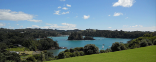 Tutukaka Harbour taken from Pacific Rendezvous
