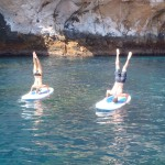 Stand Up Paddle boarding - with a twist.