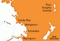 Tutukaka Coast Directions and Map